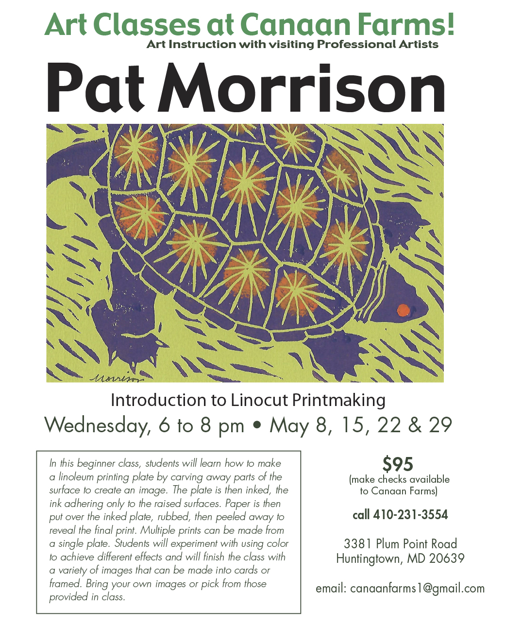 Pat Morrison Art Workshop
